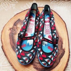 KEDS | ELEANOR MARY JANE CHERRY BIRDS SLIP-ON SHOE